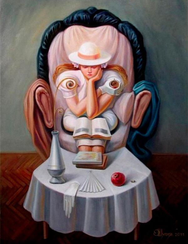 opticke iluzie Oleg Shuplyak 9