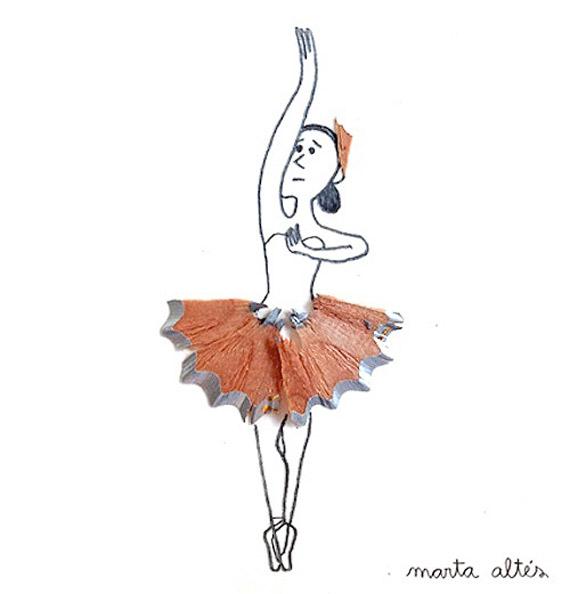 Marta Altes ilustracie hobliny zo struhatka 8