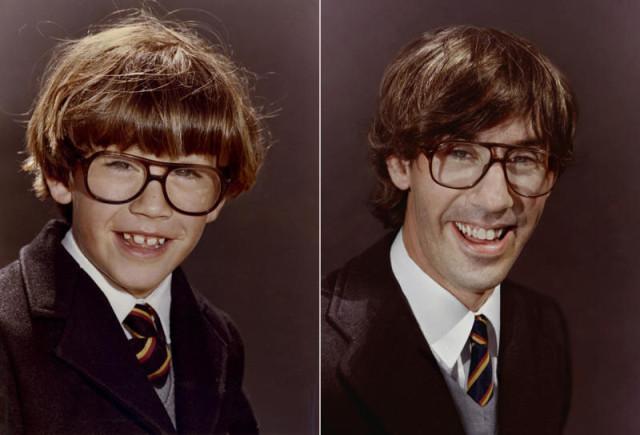 Navrat do buducnosti zobrazuje obnovene fotky z detstva 1