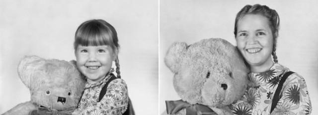 Navrat do buducnosti zobrazuje obnovene fotky z detstva 12