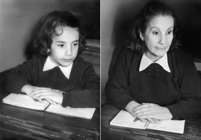 Navrat do buducnosti zobrazuje obnovene fotky z detstva 13