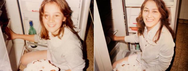 Navrat do buducnosti zobrazuje obnovene fotky z detstva 16