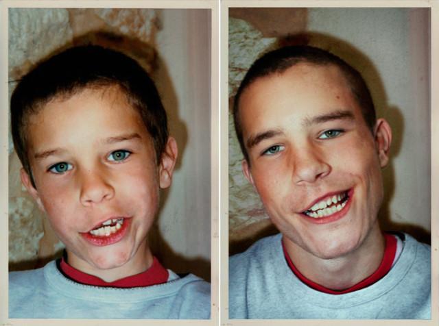 Navrat do buducnosti zobrazuje obnovene fotky z detstva 19
