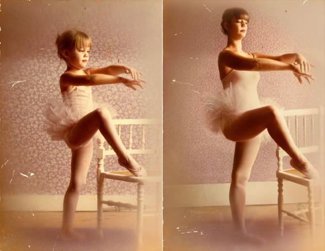 Navrat do buducnosti zobrazuje obnovene fotky z detstva 22