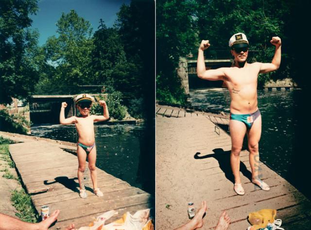 Navrat do buducnosti zobrazuje obnovene fotky z detstva 24