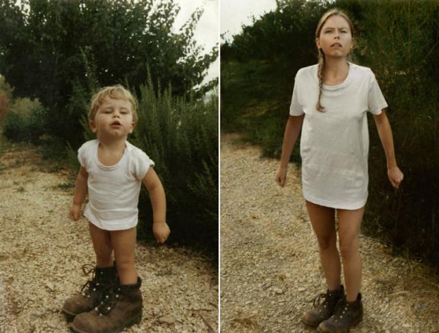 Navrat do buducnosti zobrazuje obnovene fotky z detstva 3