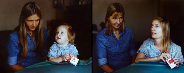 Navrat do buducnosti zobrazuje obnovene fotky z detstva 5