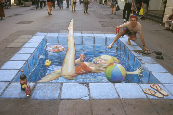 Julian Beever chodnikovy picasso 11