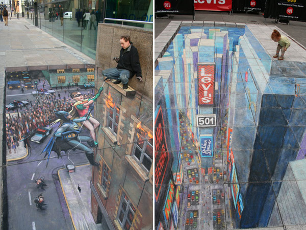 Julian Beever chodnikovy picasso 16a