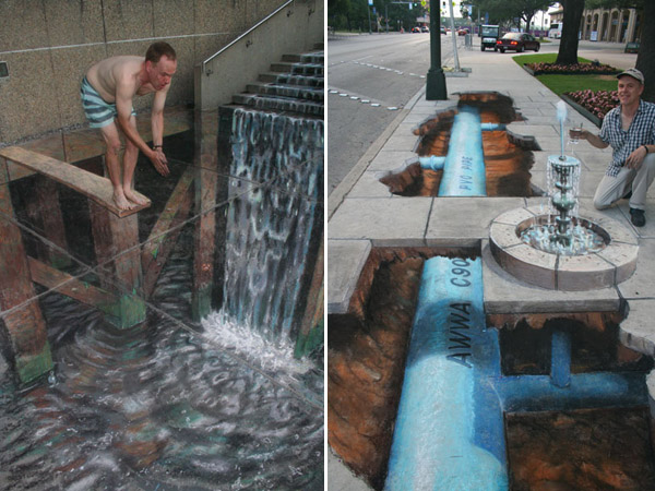 Julian Beever chodnikovy picasso 19a