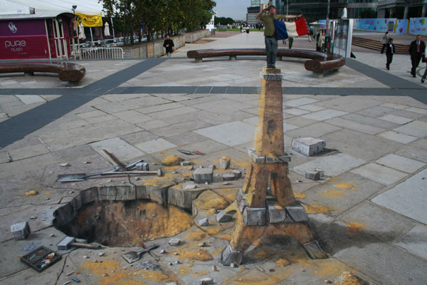 Julian Beever chodnikovy picasso 22