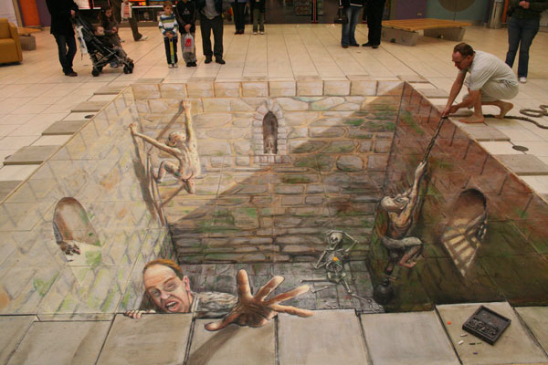 Julian Beever chodnikovy picasso 24