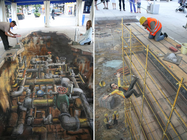 Julian Beever chodnikovy picasso 30a
