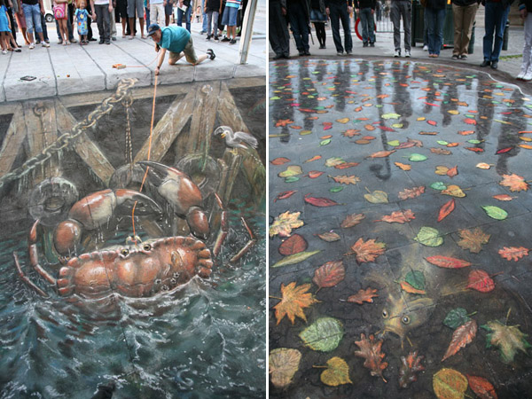 Julian Beever chodnikovy picasso 33a
