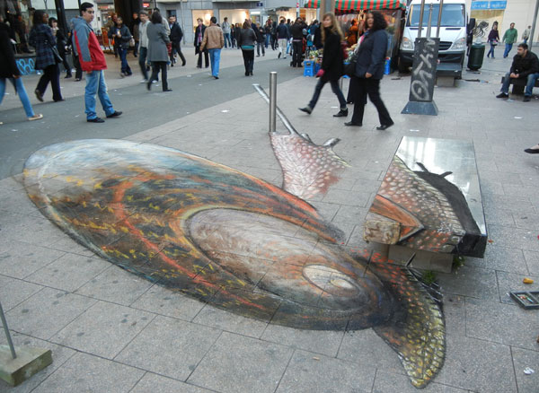 Julian Beever chodnikovy picasso 37a