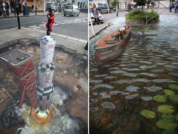 Julian Beever chodnikovy picasso 40a