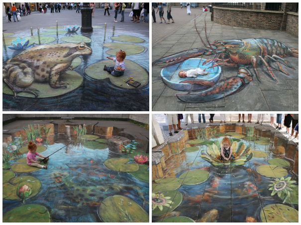 Julian Beever chodnikovy picasso 4aa