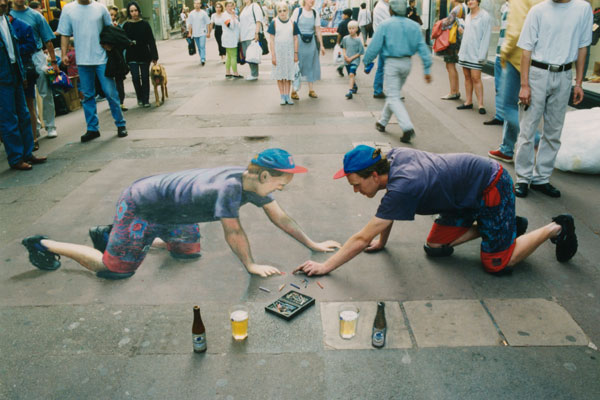 Julian Beever chodnikovy picasso 5