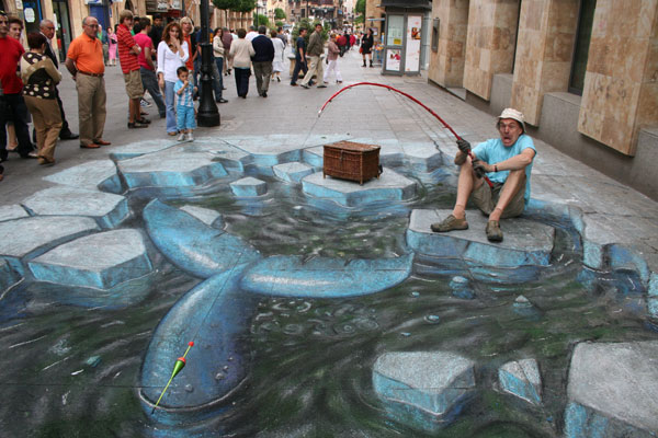 Julian Beever chodnikovy picasso 7