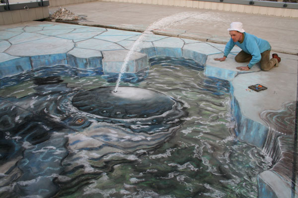 Julian Beever chodnikovy picasso 8