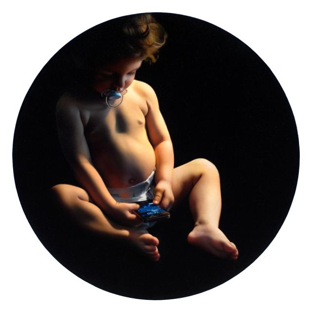 Tigran Tsitoghdzyan Hyperrealistické olejomaľby zobrazujú nedostatok anonymity 8
