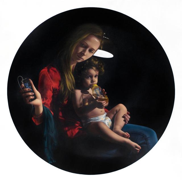 Tigran Tsitoghdzyan Hyperrealistické olejomaľby zobrazujú nedostatok anonymity 9