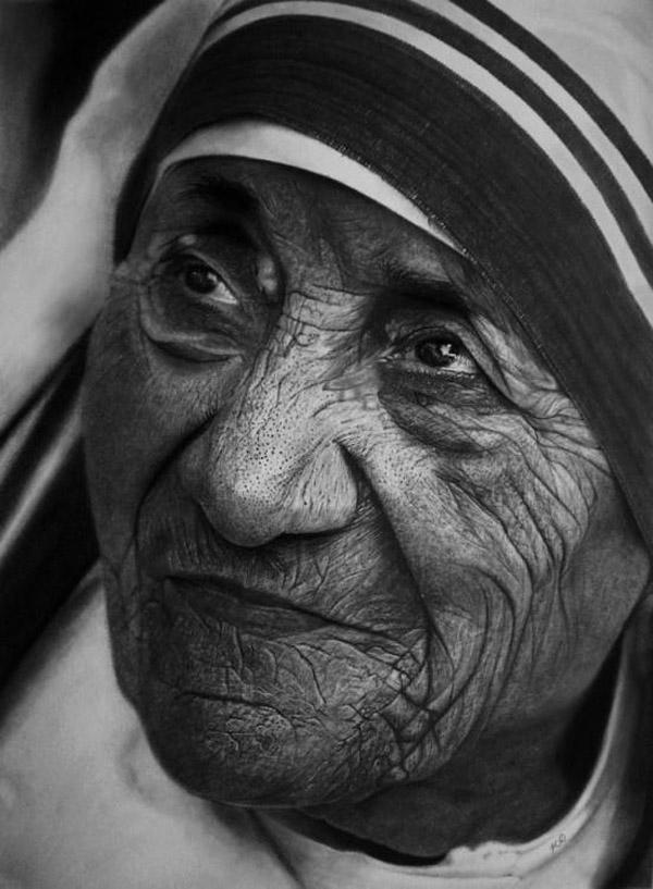 Kelvin Okafor fotorealisticke kresby ceruzkou 1