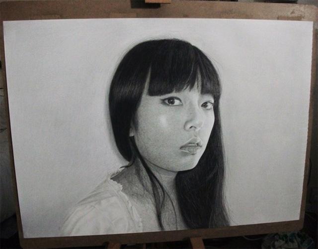 Kelvin Okafor fotorealisticke kresby ceruzkou 12
