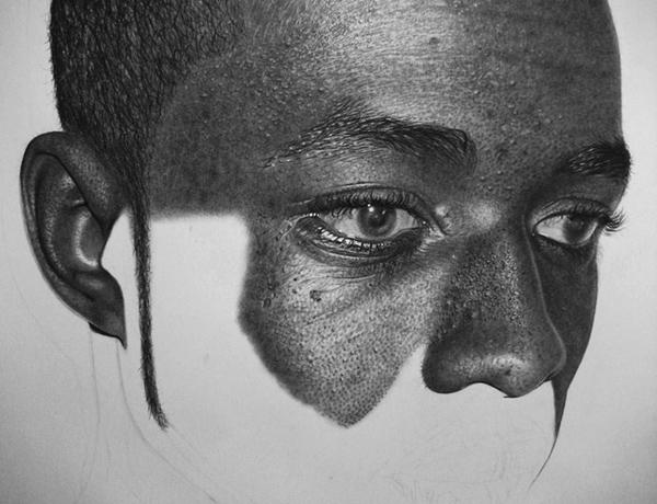 Kelvin Okafor fotorealisticke kresby ceruzkou 16b