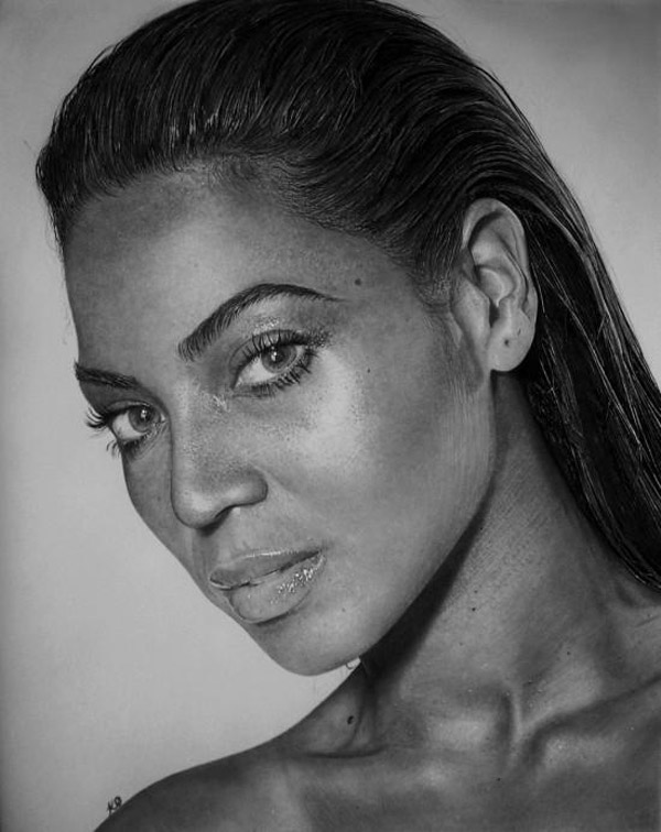 Kelvin Okafor fotorealisticke kresby ceruzkou 2