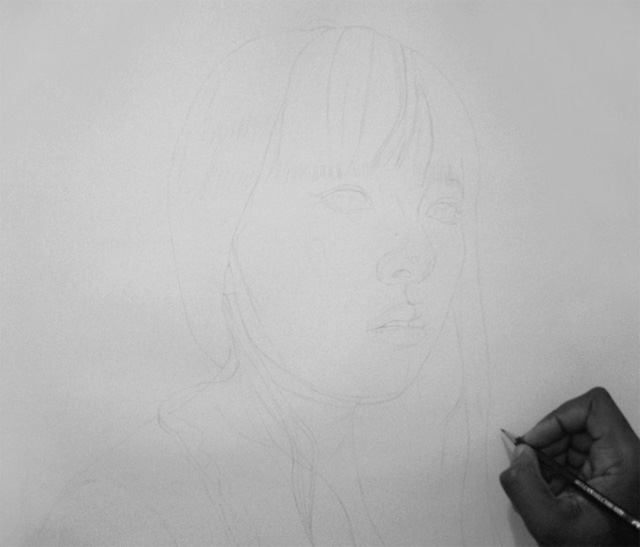 Kelvin Okafor fotorealisticke kresby ceruzkou 5