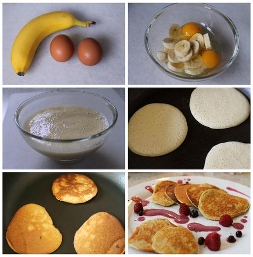 bananove palacinky z 2 ingrediencii 1