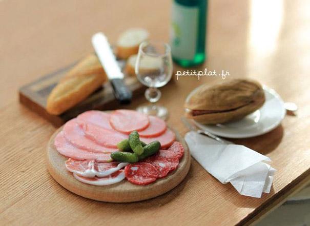 miniatury jedla z fima 3