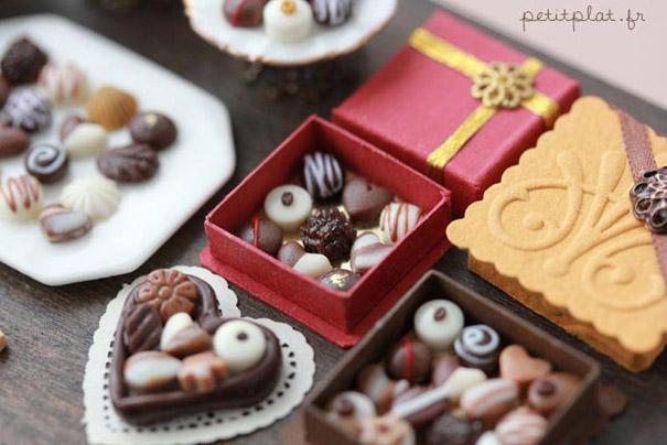 miniatury jedla z fima 8