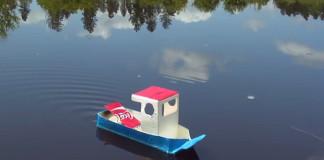 pop pop loďka