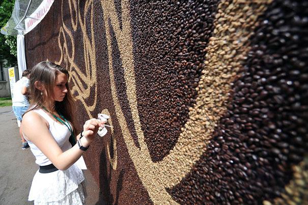 Arkady Kim kavova mozaika 8