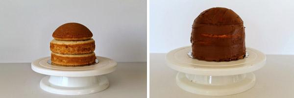 torta sova postup 1