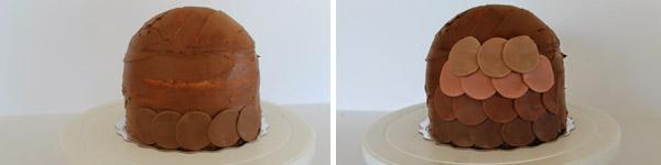 torta sova postup 3