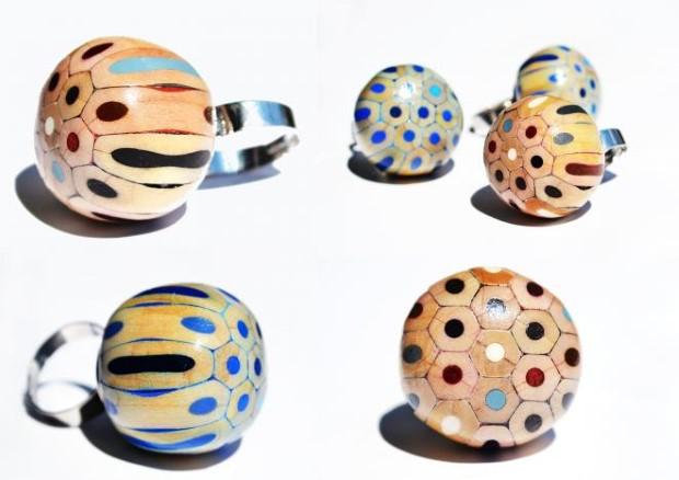 prsten z farbiciek 6