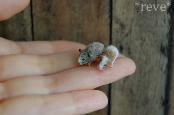 Miniaturne zvieratka od reve 22