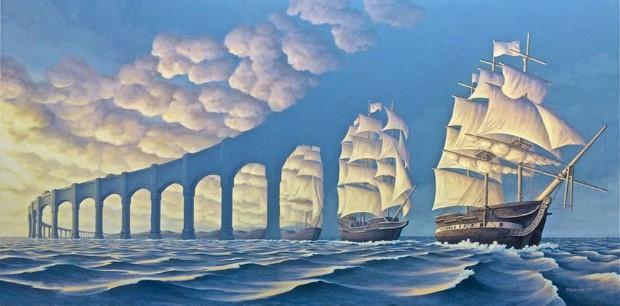 Robert Gonsalves opticke iluzie 1