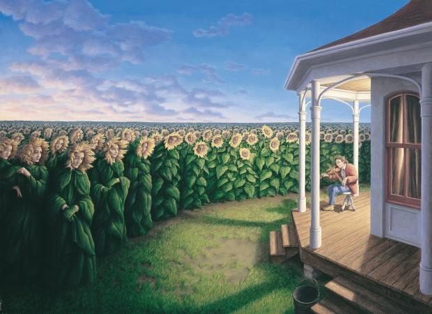 Robert Gonsalves opticke iluzie 14