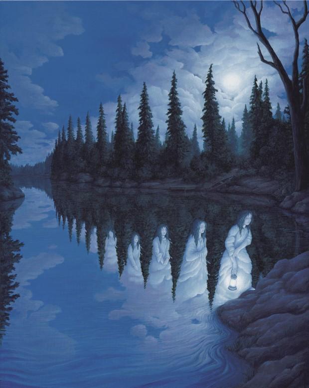 Robert Gonsalves opticke iluzie 15