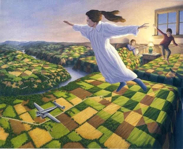 Robert Gonsalves opticke iluzie 2