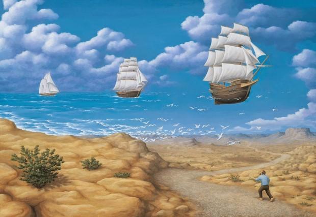 Robert Gonsalves opticke iluzie 4
