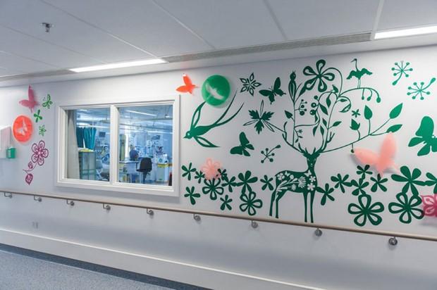 Ako umelci premenili nemocnicu 19