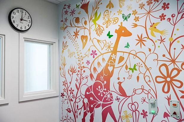 Ako umelci premenili nemocnicu 21
