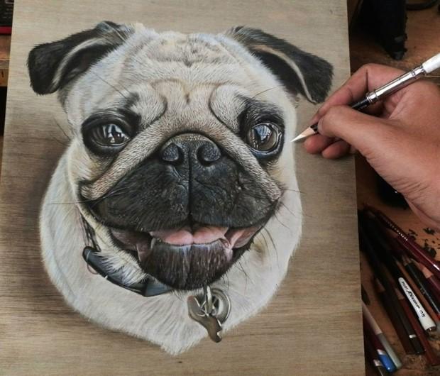 Ivan Hoo realisticke kresby 1