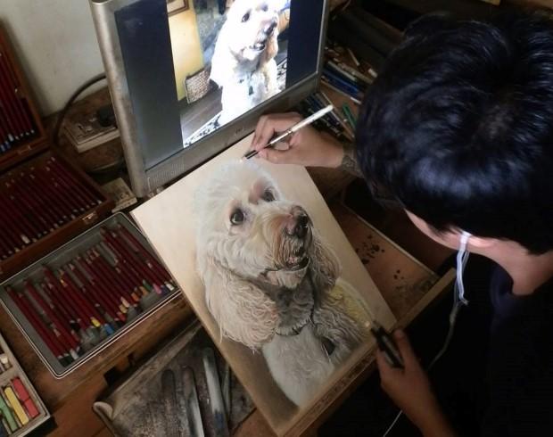 Ivan Hoo realisticke kresby 19