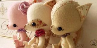Handmade hračky z plsti od Gingermelon si zamilujete